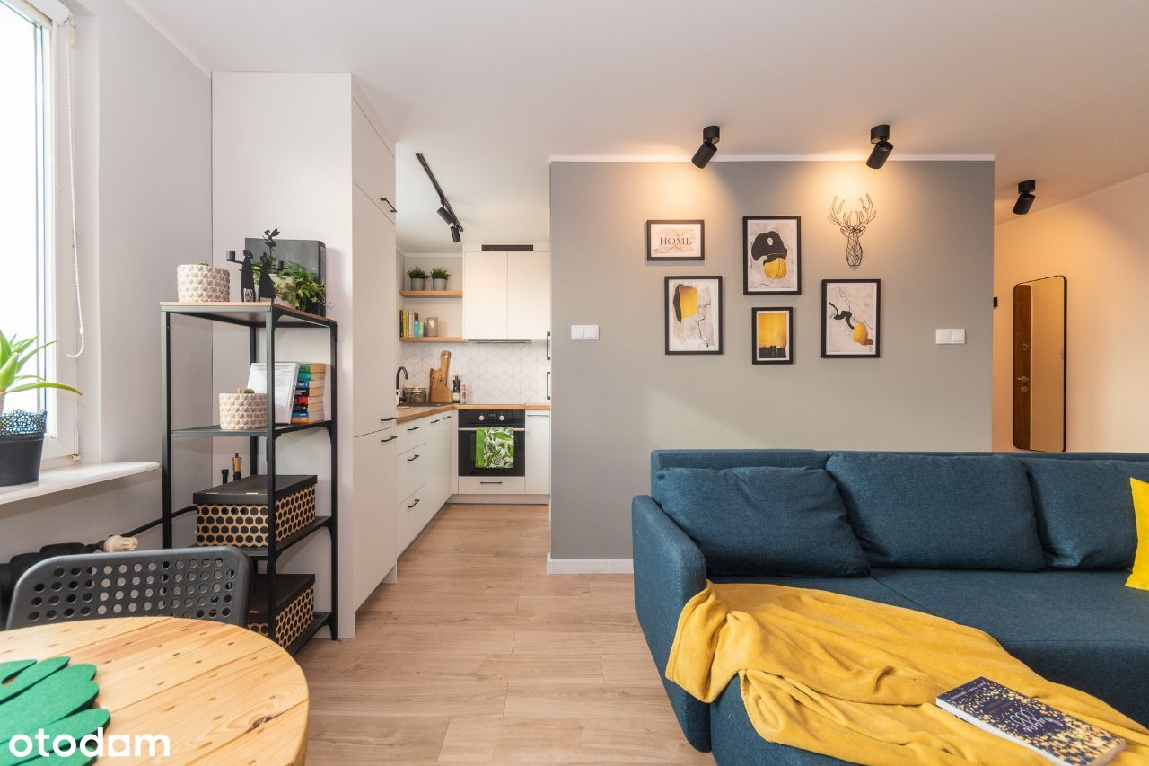 Dwupokojowe mieszkanie po REMONCIE w CENTRUM