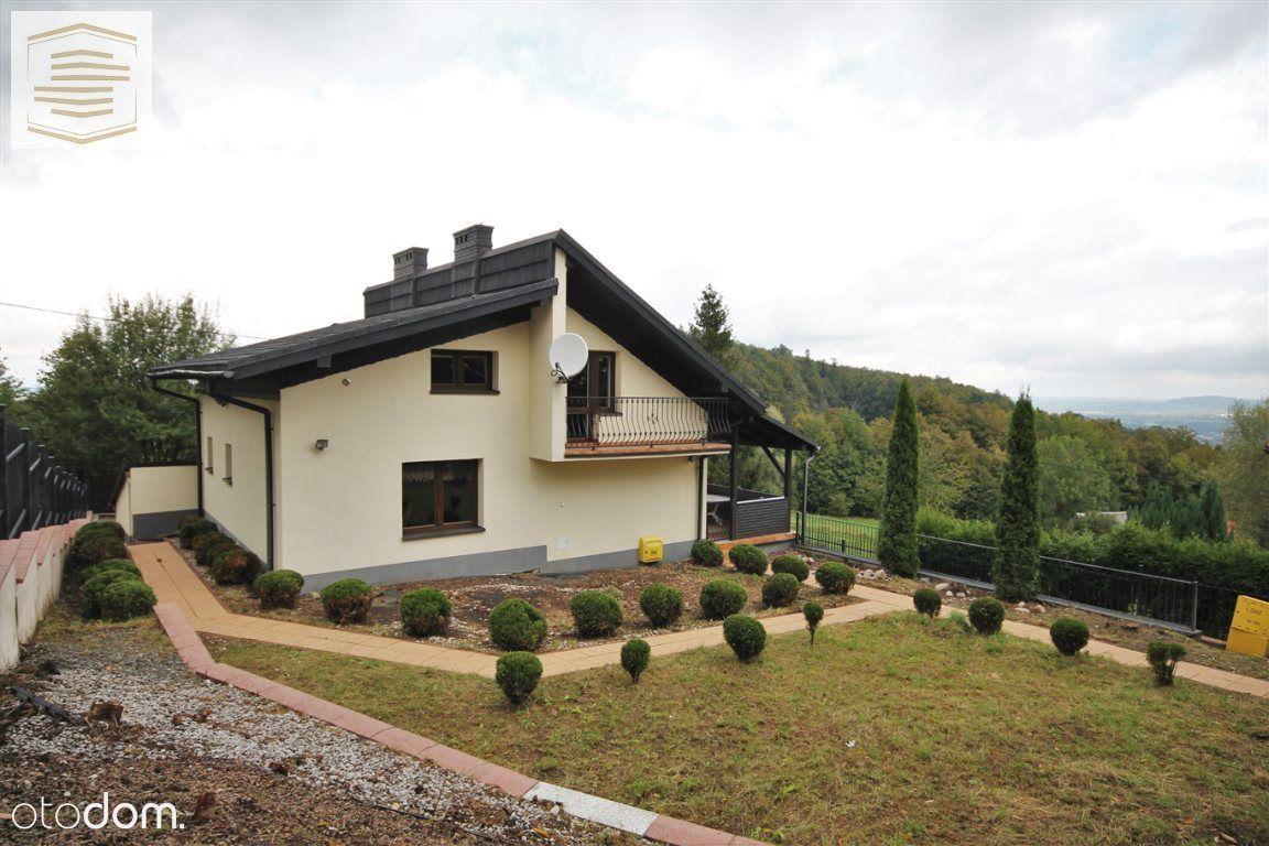 Dom w Cisownicy z pięknym widokiem na Beskidy!