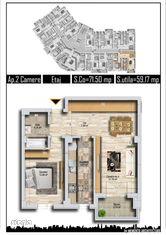Apartament 2 camere Accent Residence Iuliu Maniu