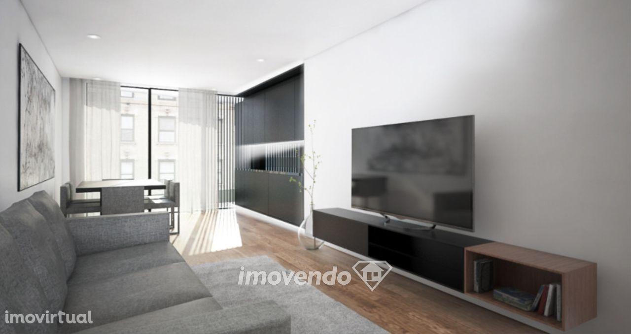 Apartamento T1, com lugar de estacionamento, no centro do Porto