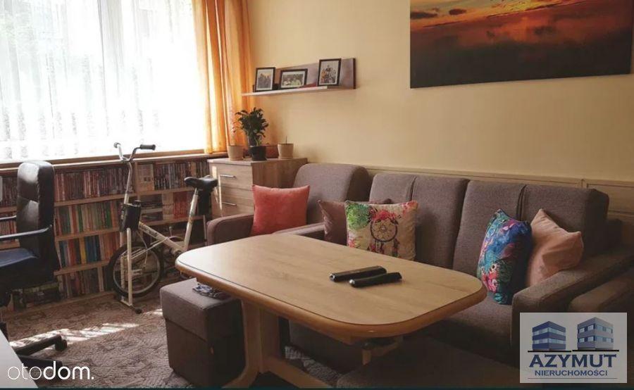 Przestronne mieszkanie na parterze