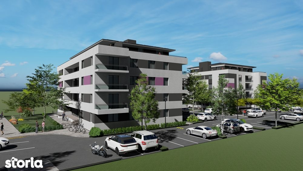 Apartament cu 3 camere 72 mp utili Parter -Direct Dezvoltator