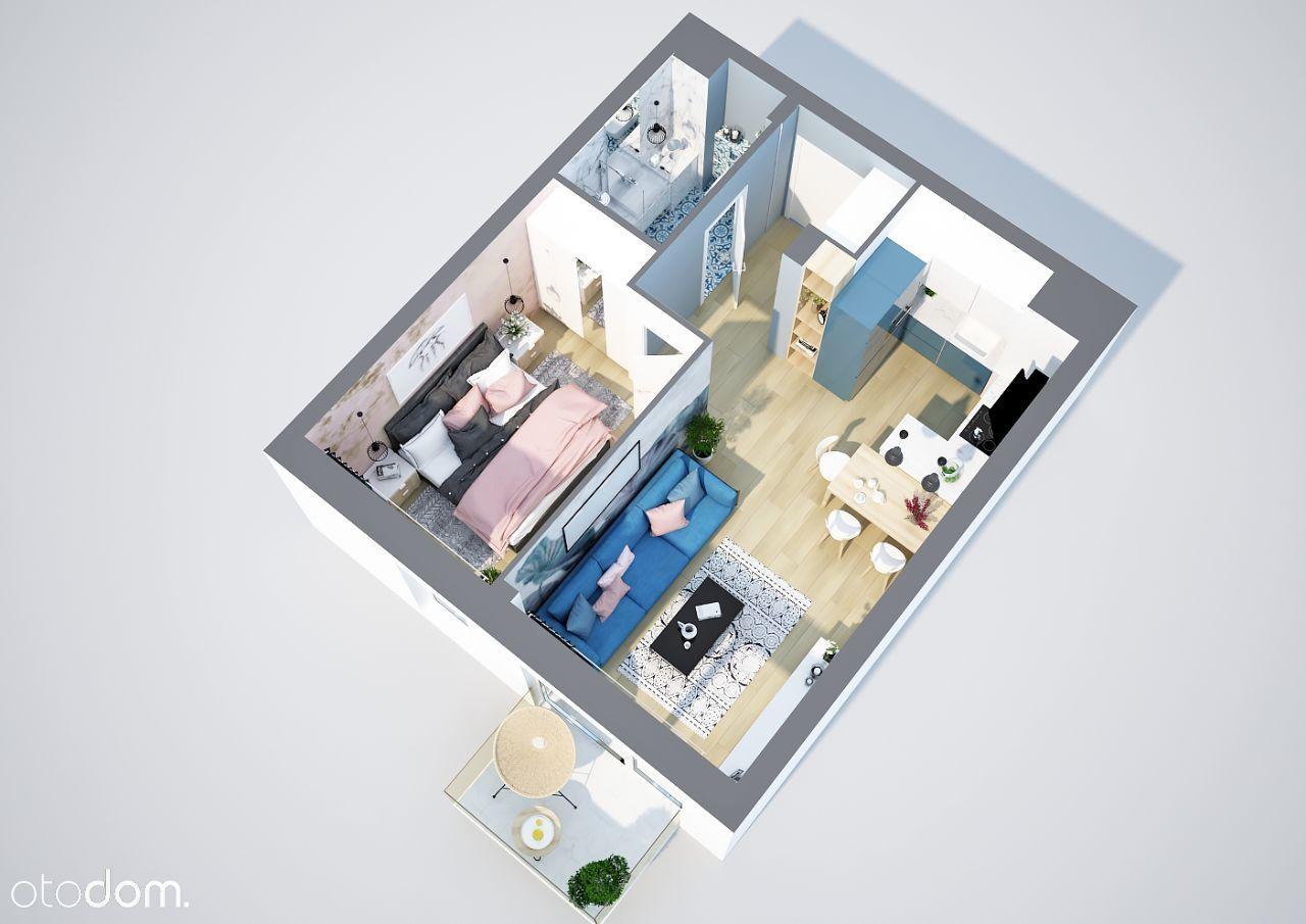 Mieszkanie 2-pokojowe 38,86 m Dworskie Ogrody M09