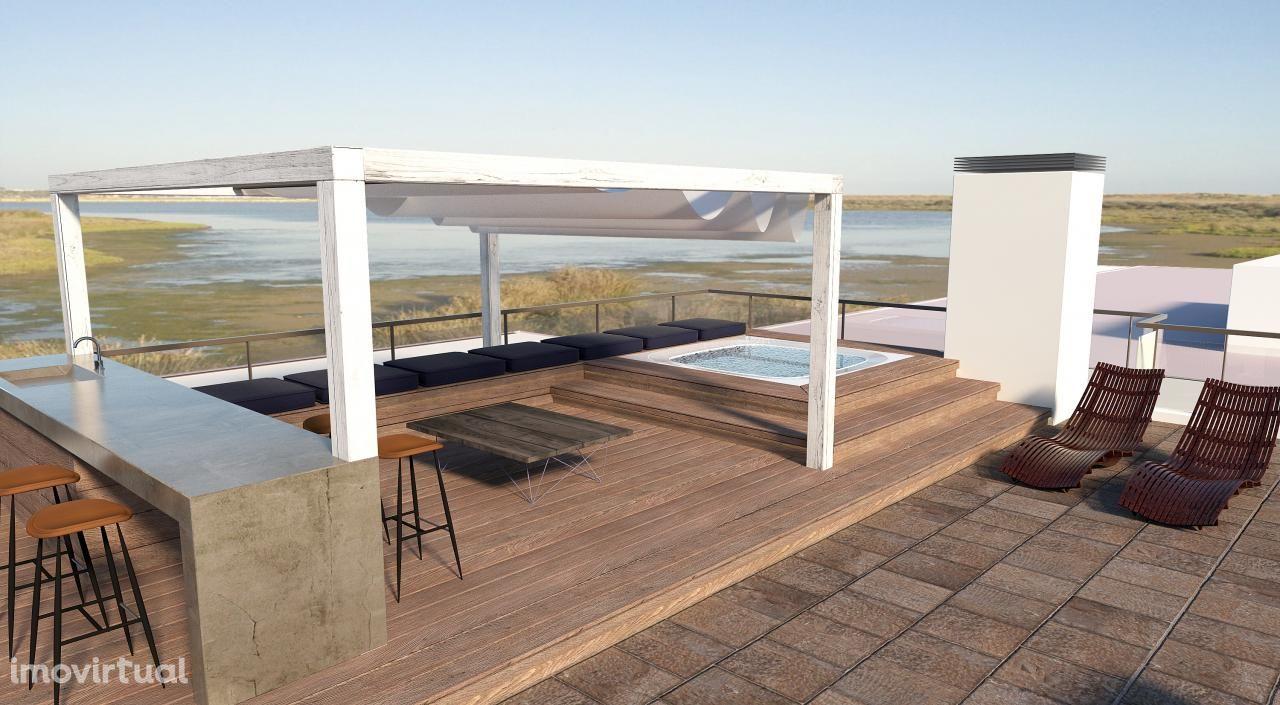 Quinta de luxo com vistas deslumbrantes da ria de Alvor e Meia praia