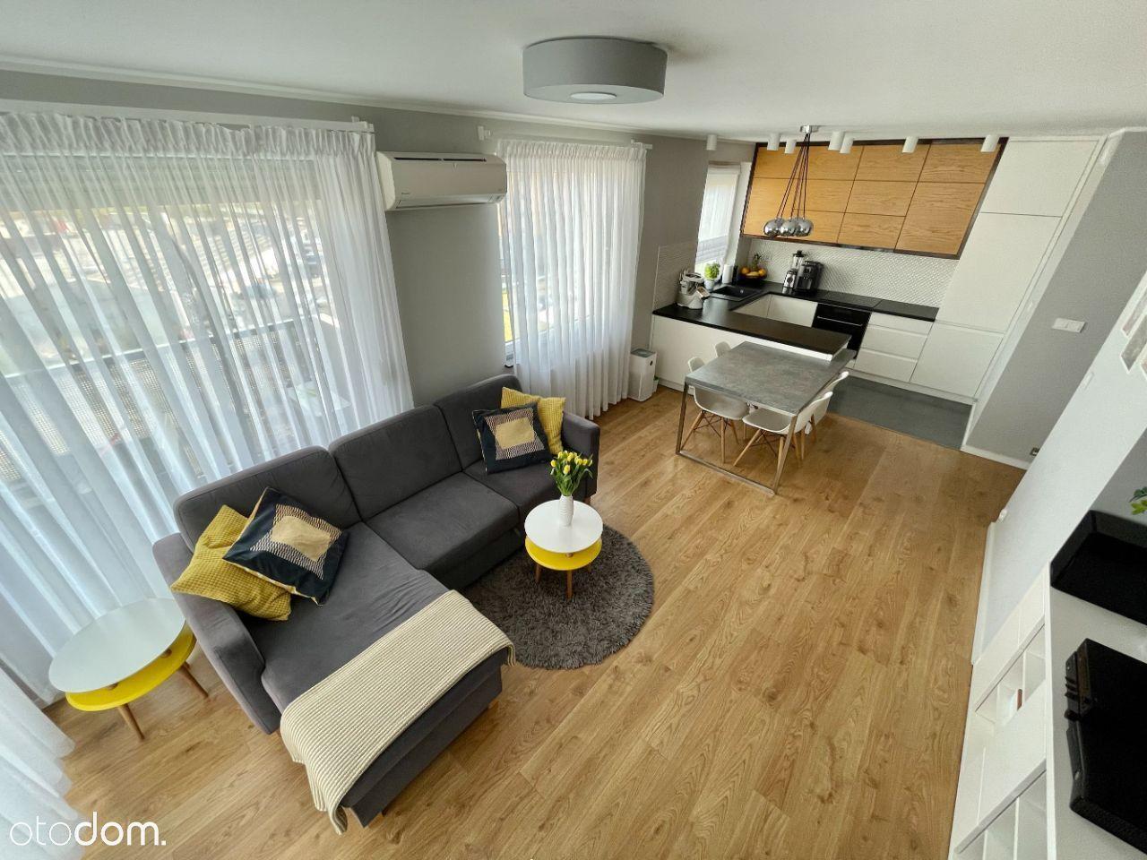 Nowoczesne 63 m2, Sołtysowice, garaż + komórka