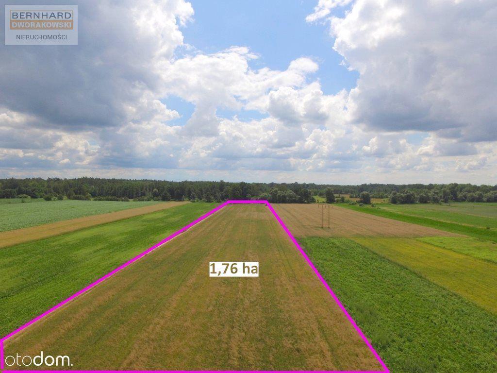 Działka rolna 1,76 ha /obok budowlana/na siedlisko