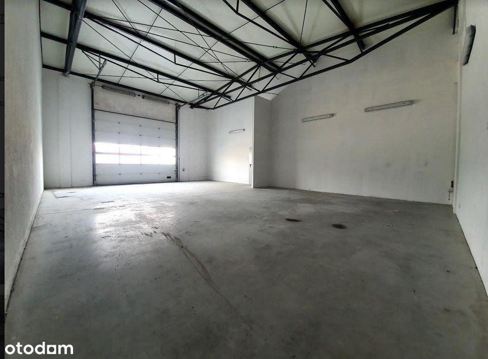 Obiekt magazynowo-biurowy 220m kw. Plewiska