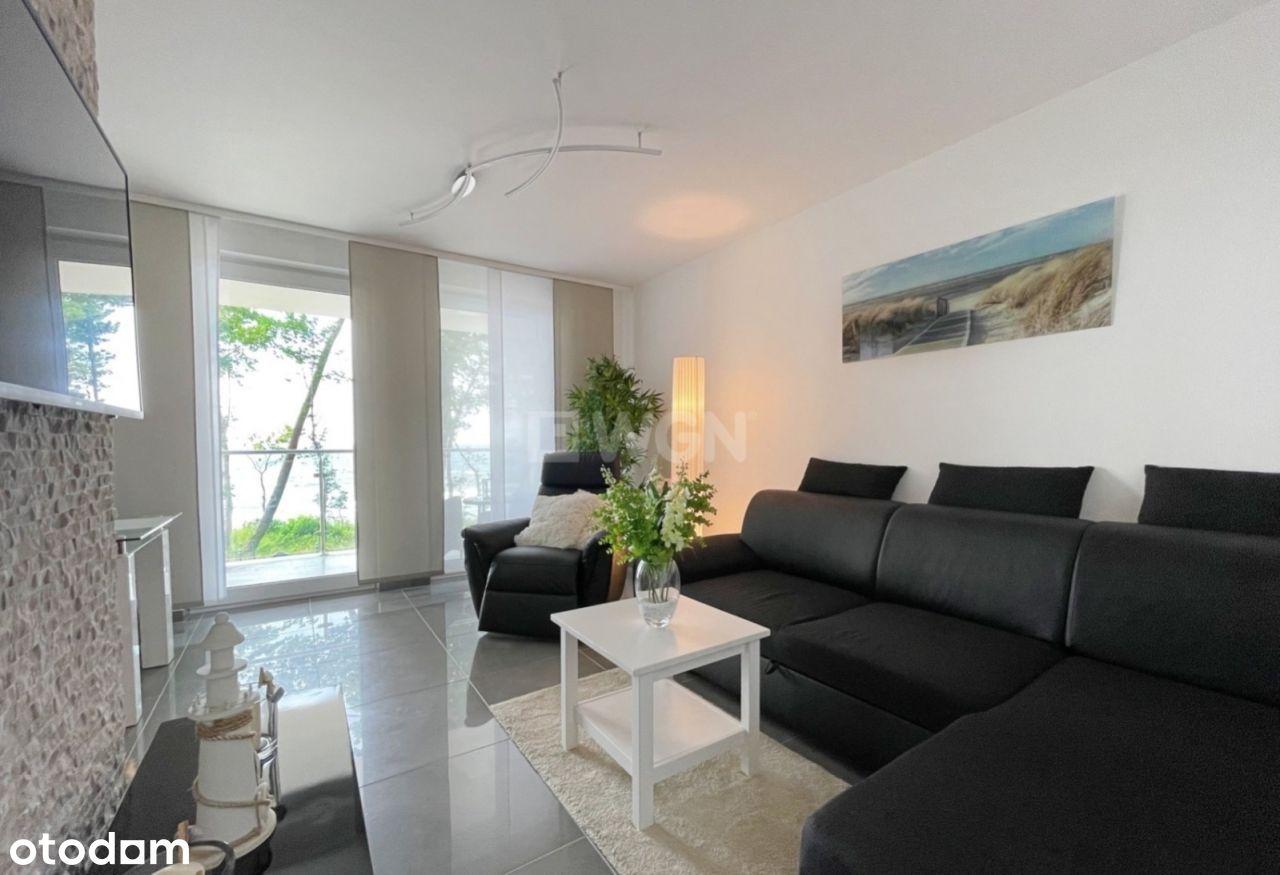 Apartament w Rewalu z bezpośr. widokiem na morze