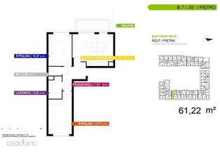 3 pokojowe mieszkanie B.7.1.05