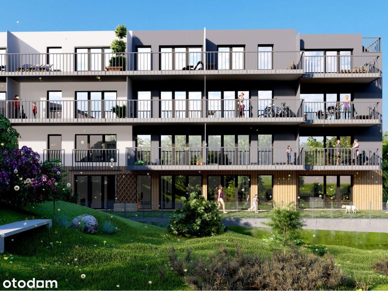4 pokoje z dużym balkonem - Pobitno