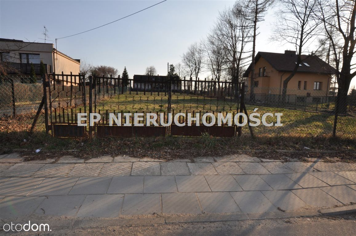 Działka, 1 295 m², Częstochowa
