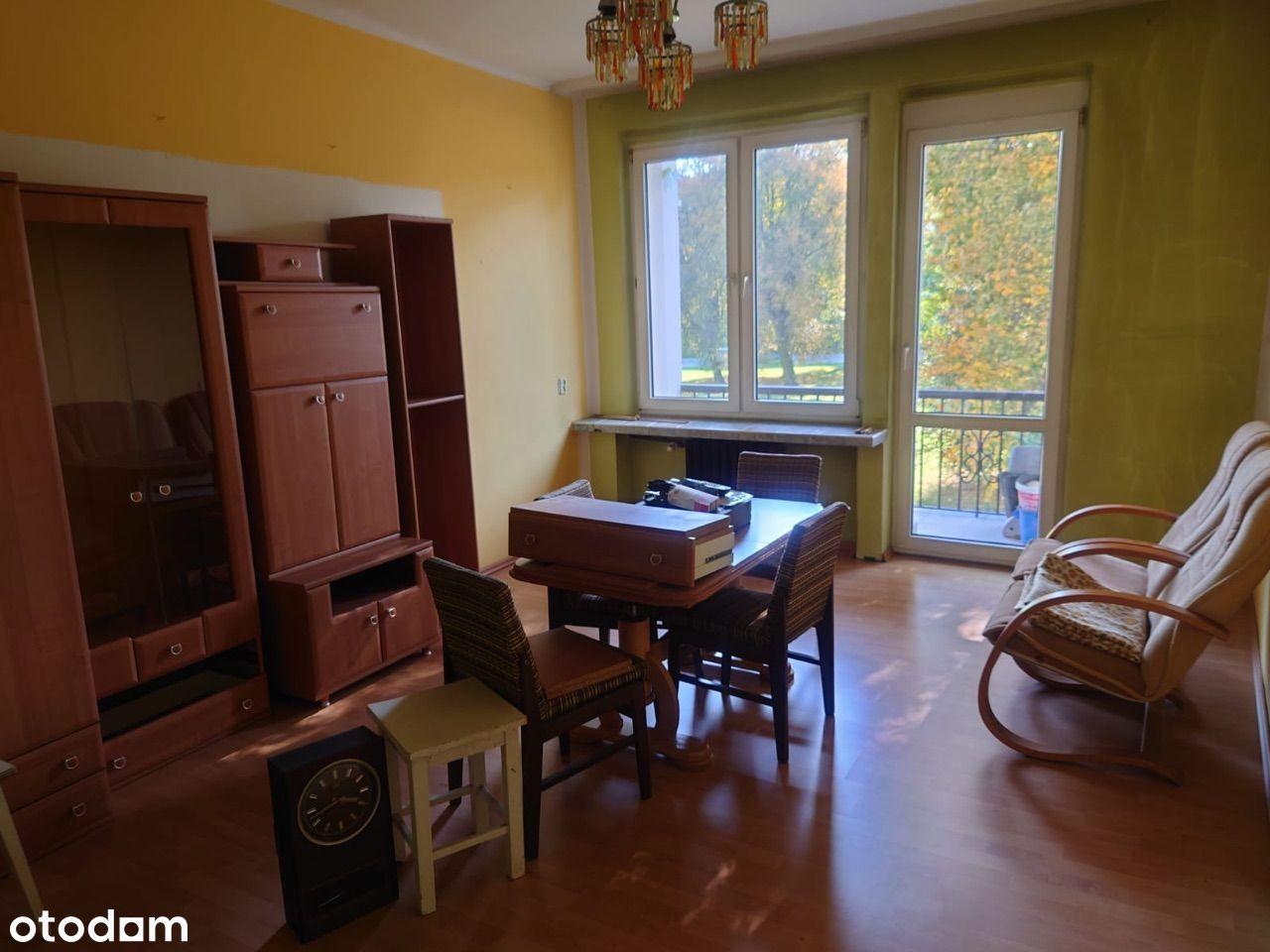 Mieszkanie do częściowego remontu po wymianie inst