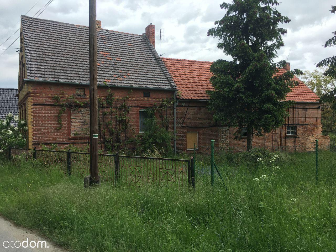 dom lubsko działka 500 m2