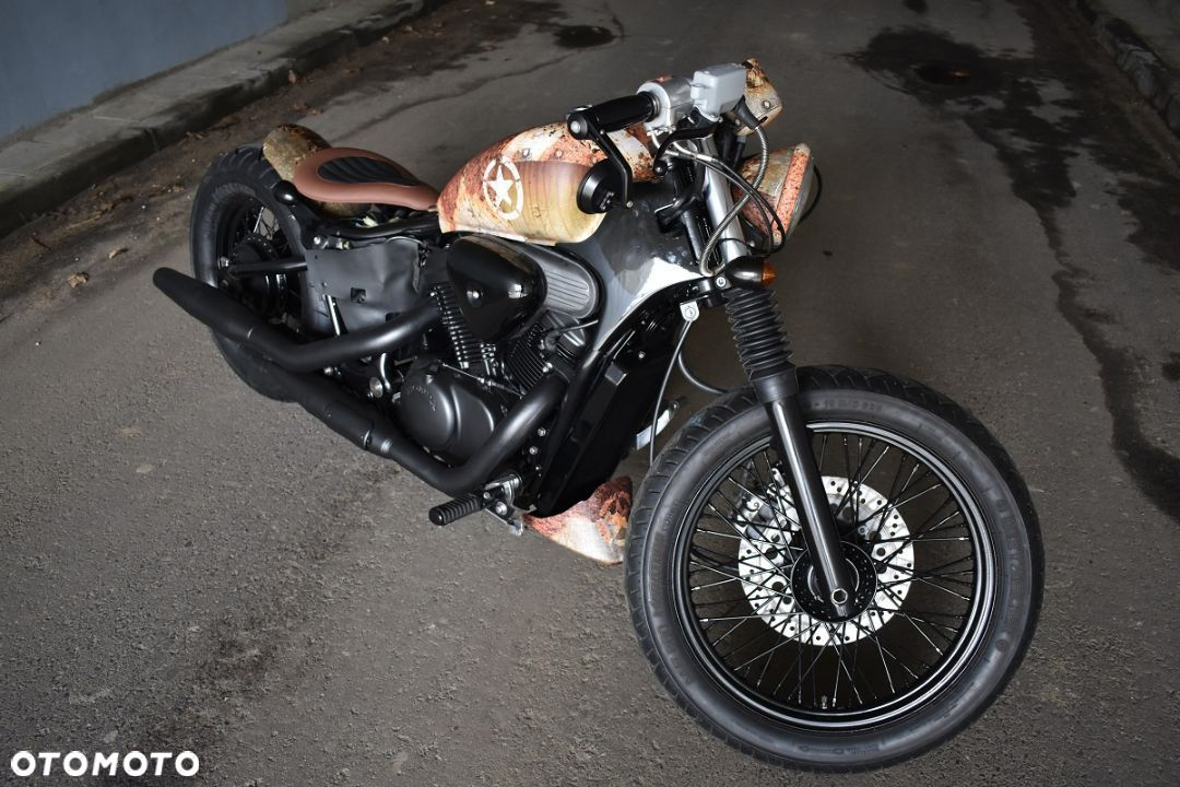 Honda VT Shadow vt 600 Flame Custom Bobber cafe - 24