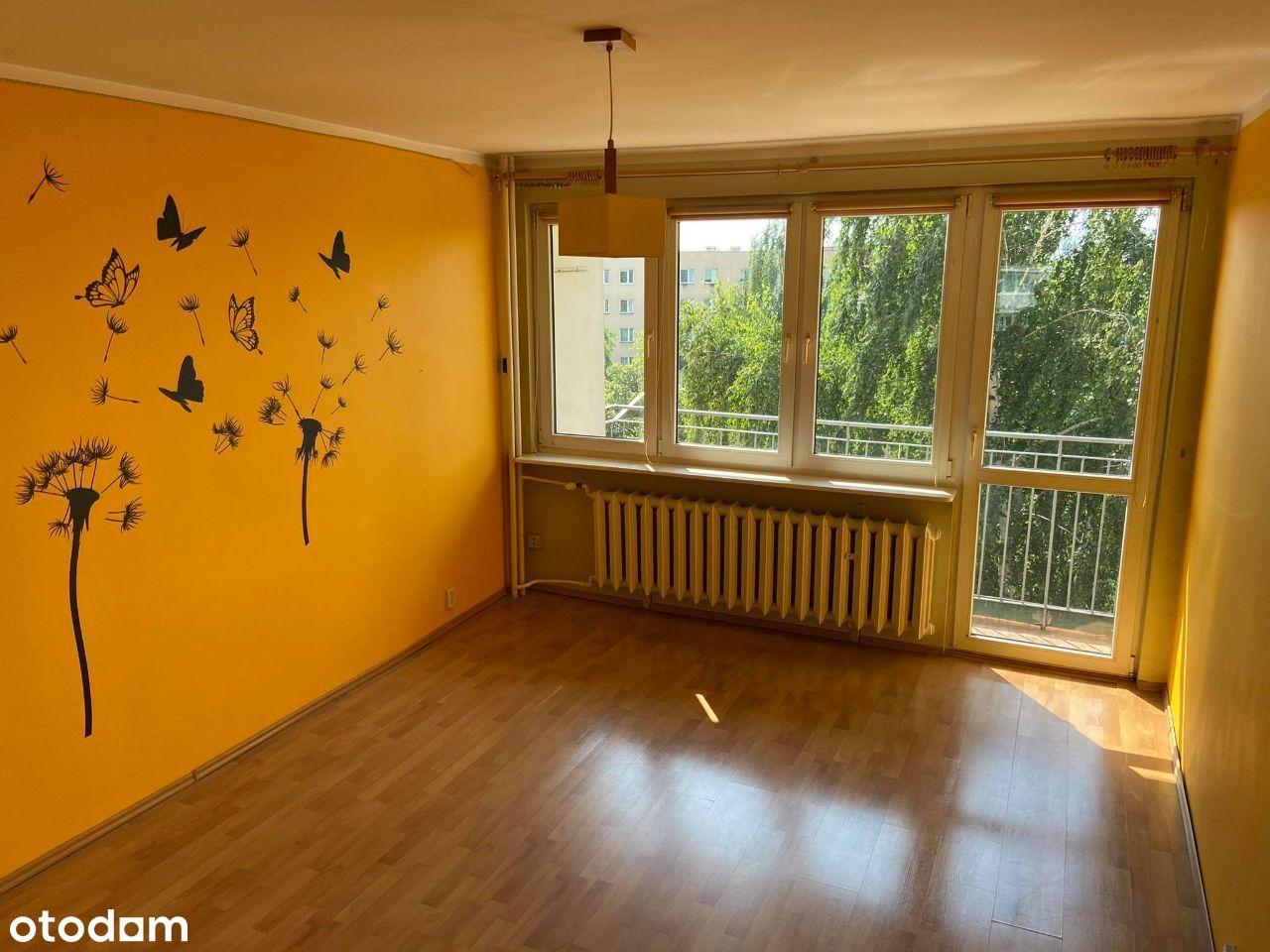 2 pokojowe mieszkanie 46 m2 - balkon i pom. gosp