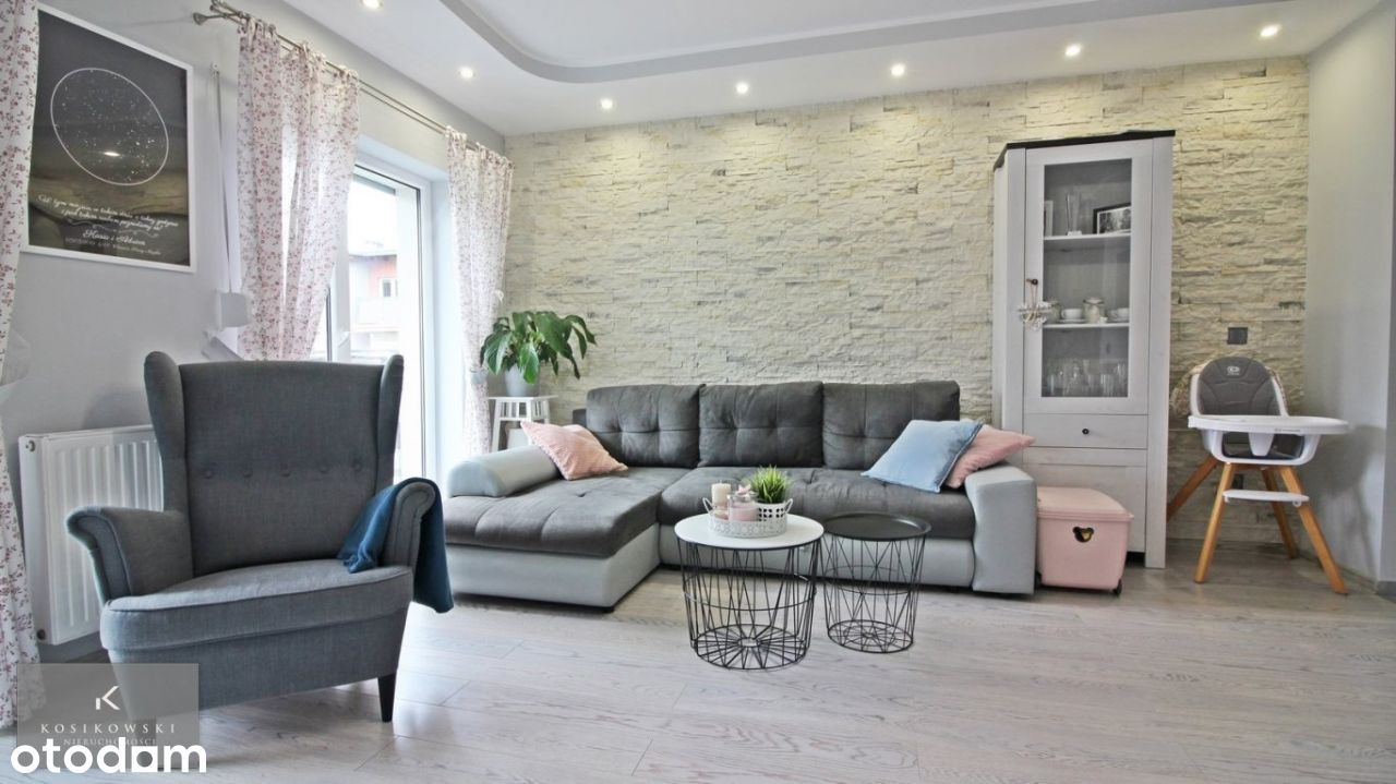 Eleganckie, wyposażone mieszkanie 63m2 z garażem!