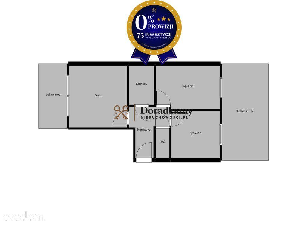 Idealny Rozkład Mieszkanie 3 Pokojowe 2 Tarasy Got