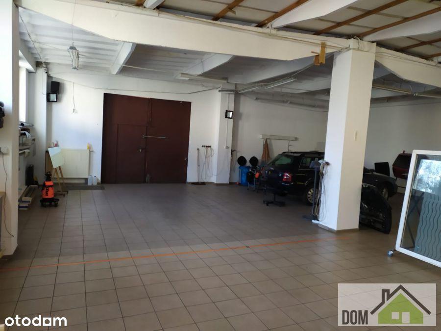 Hala 350 m2, biuro, socjal.