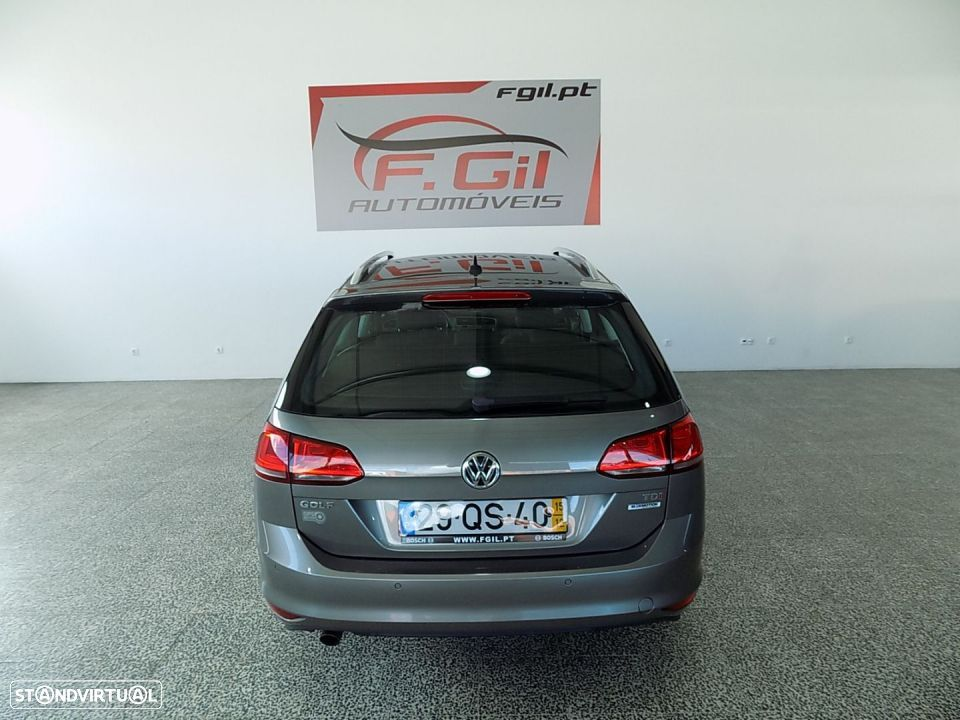 VW Golf Variant 1.6 Tdi GPS Edition Bluemotion (5P) - 7