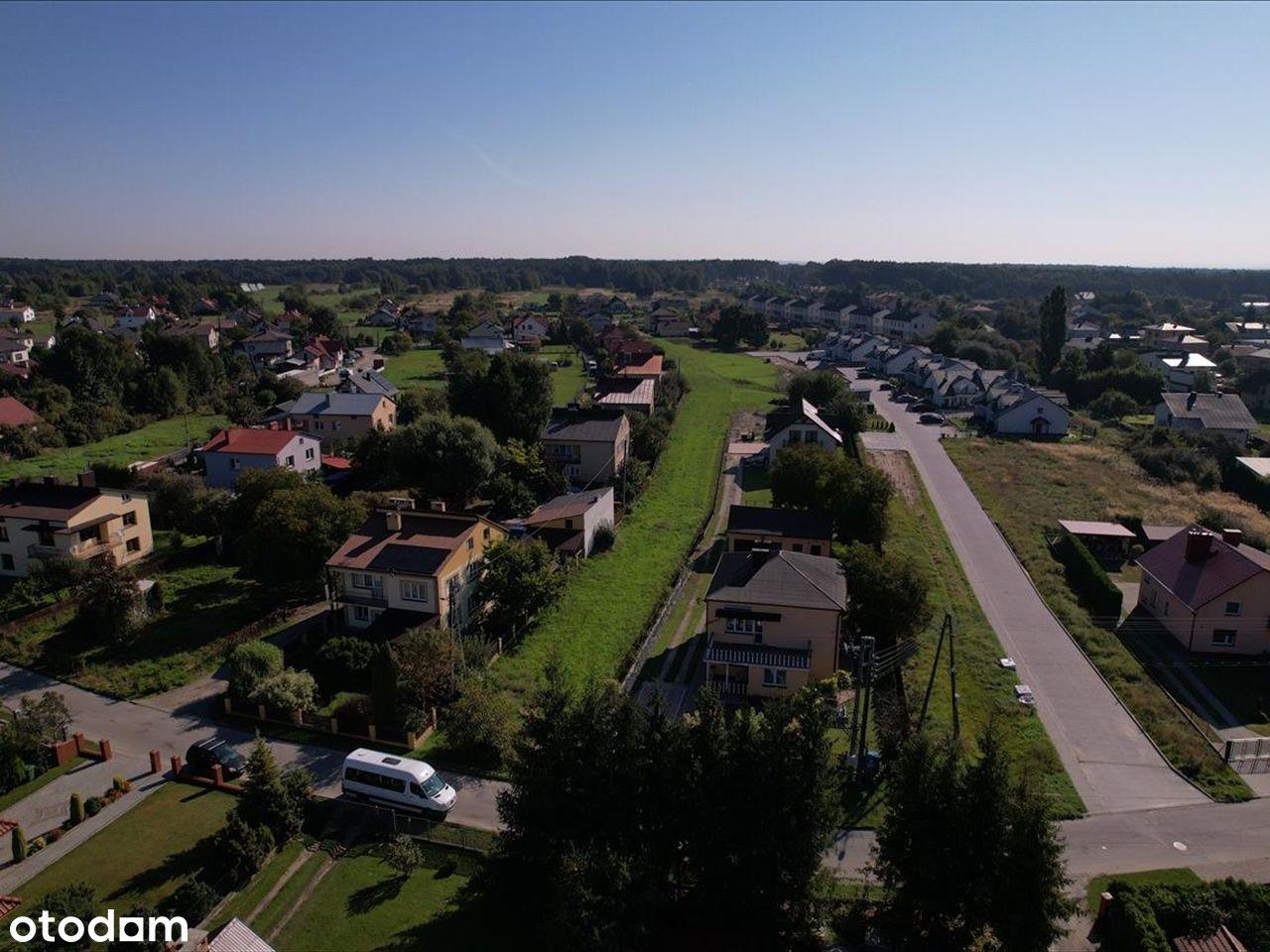 36,81 ar działka z warunkami zabudowy Głogów Młp.
