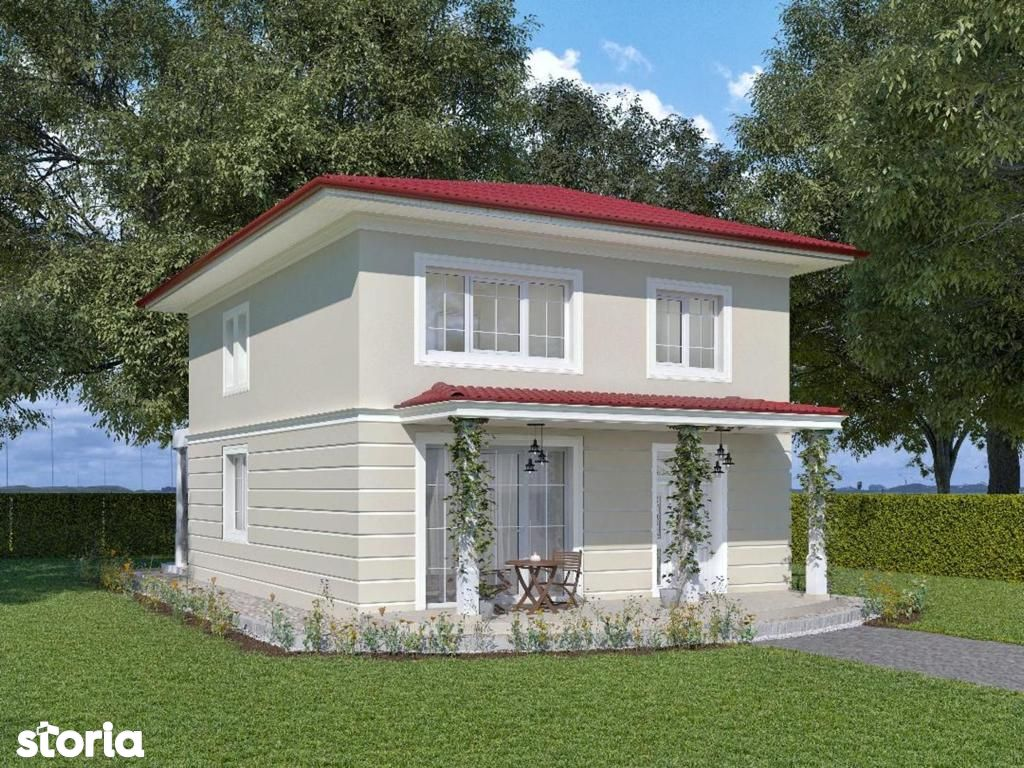 Proiect deosebit! Complex unic! Vila 4 camere, 600 mp teren, Breazu
