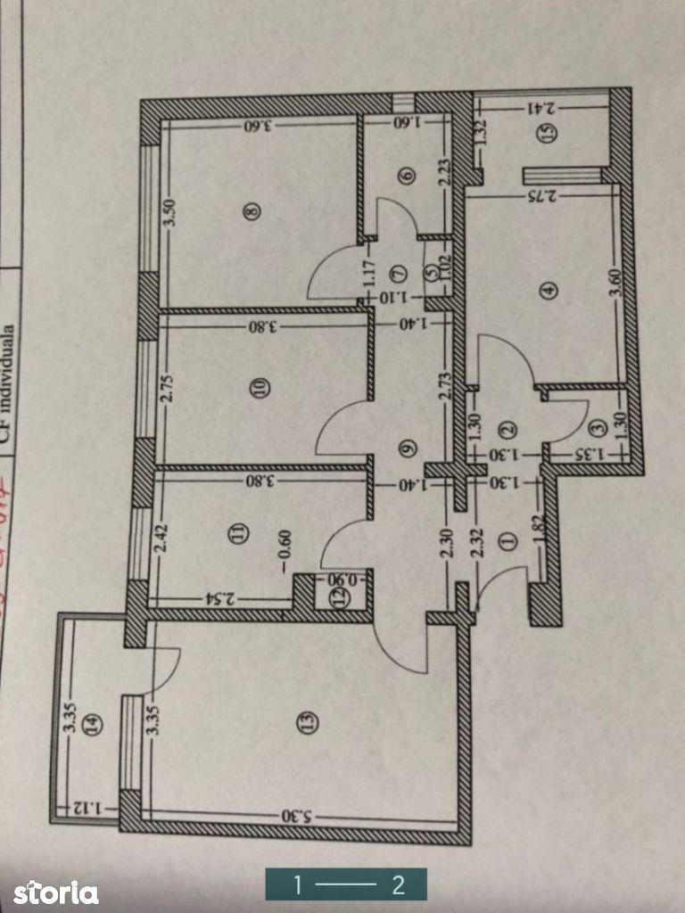Apartament 4 camere, zona Aurora Vest (L10)