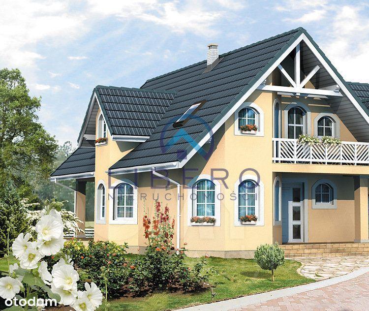 Dom z ogrodem na wsi 55 km od W-wy, struga, las