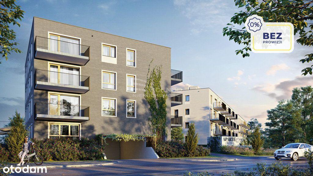 46,27m2 | 2 pokoje | 2 piętro | balkon | 0%