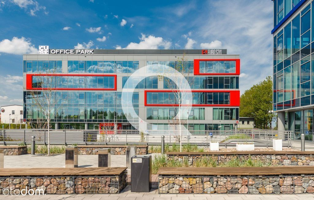 Nowoczesna A-klasowa powierzchnia biurowa