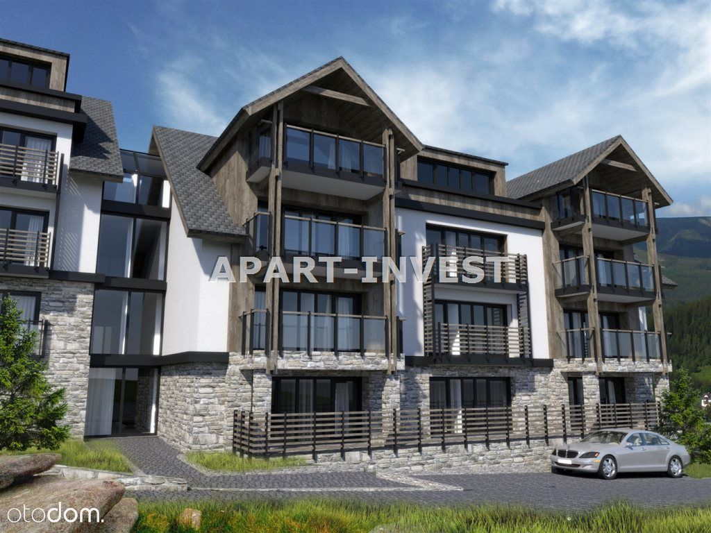 Mieszkanie, 61,68 m², Szklarska Poręba