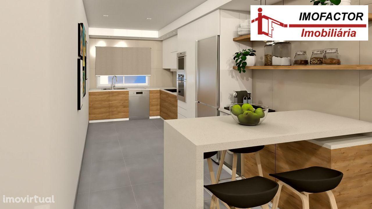 Apartamento T2 Novo com Parqueamento - Castelo Branco - Centro