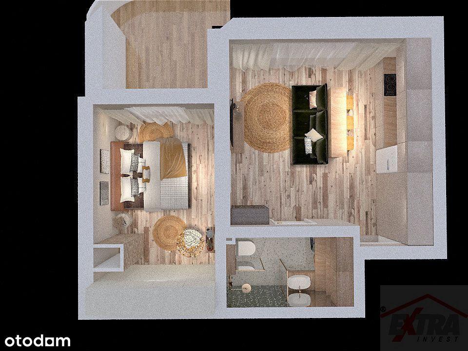 Apartament 39m2 w centrum stan deweloperski