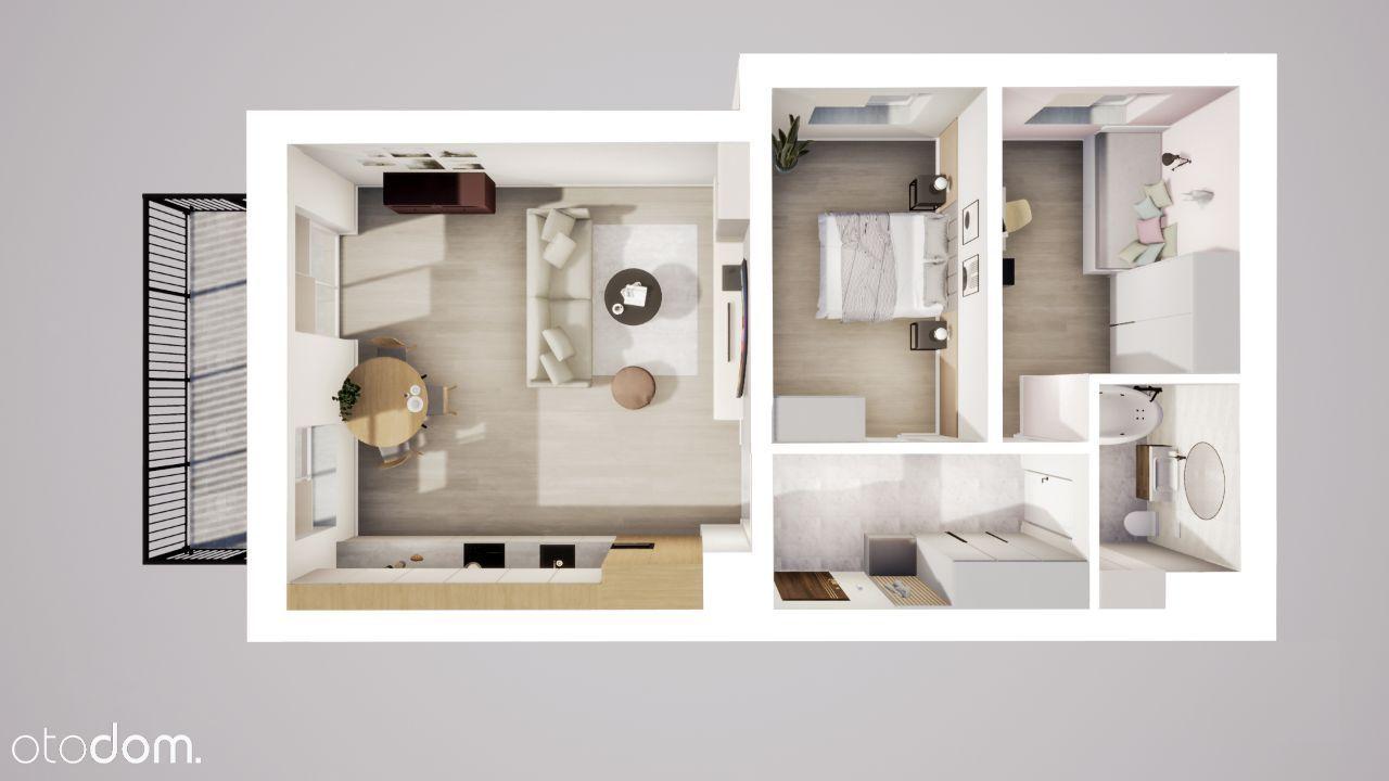 Obszerne, 3 pokojowe mieszkanie dla wymagających