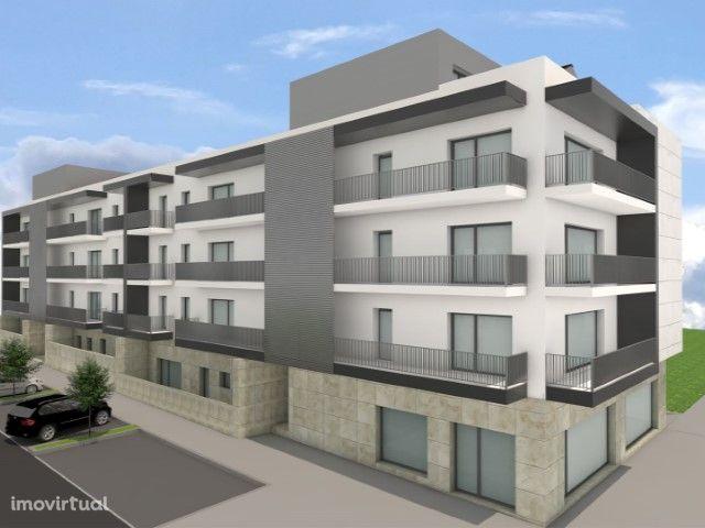 Apartamento T2 com jardim