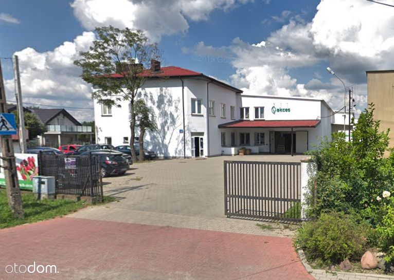 Budynek biurowo-magazynowy w Macierzyszu - 2241m2