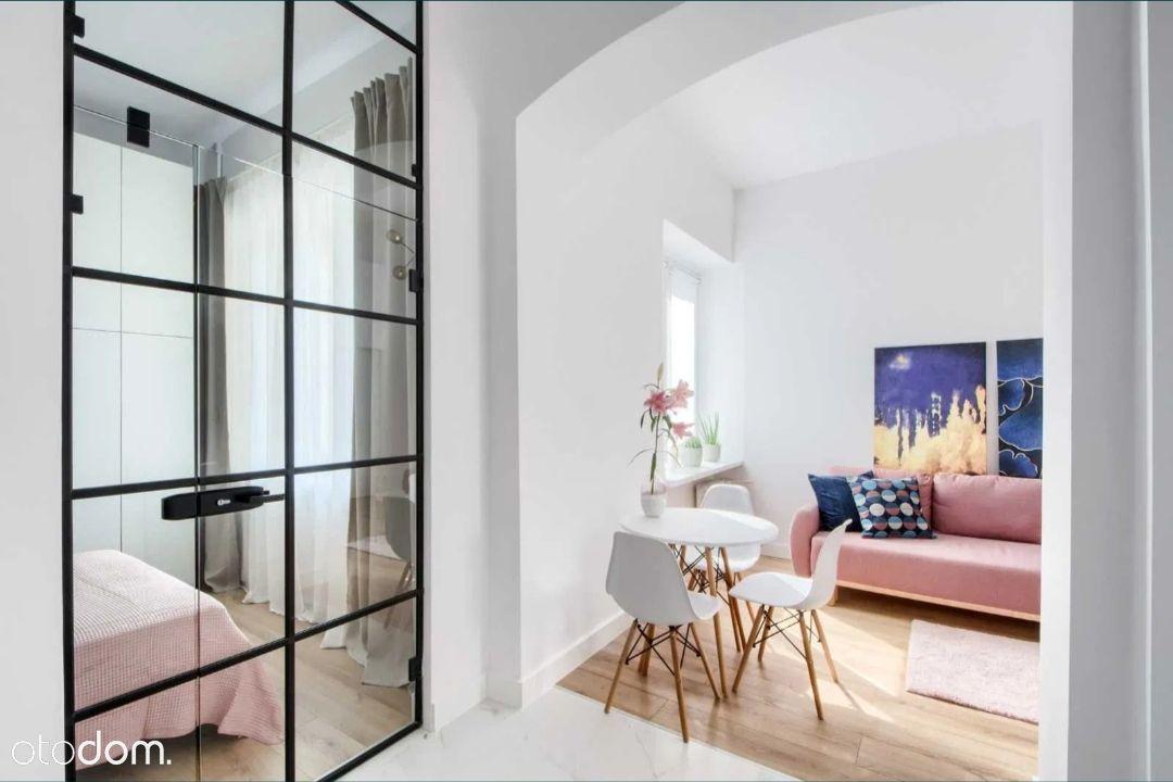 Designerski apartament na Wspólnej,totalne Centrum