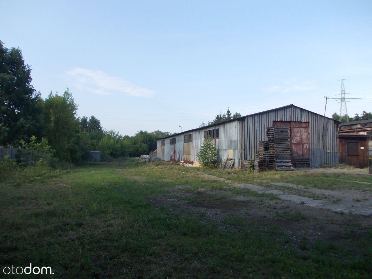 Sprzedam działkę przemysłową 7700 m2 z halą 300 m2