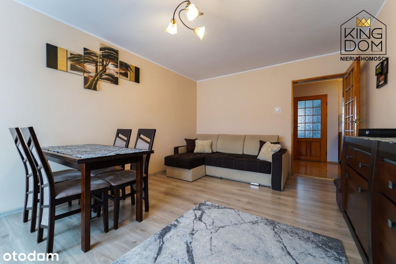 Komfortowe dwupokojowe mieszkanie, ulica Traugutta