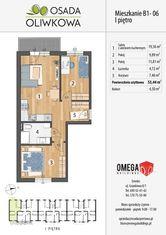 Przestronne 3-pokojowe mieszkanie z balkonem! 53m2