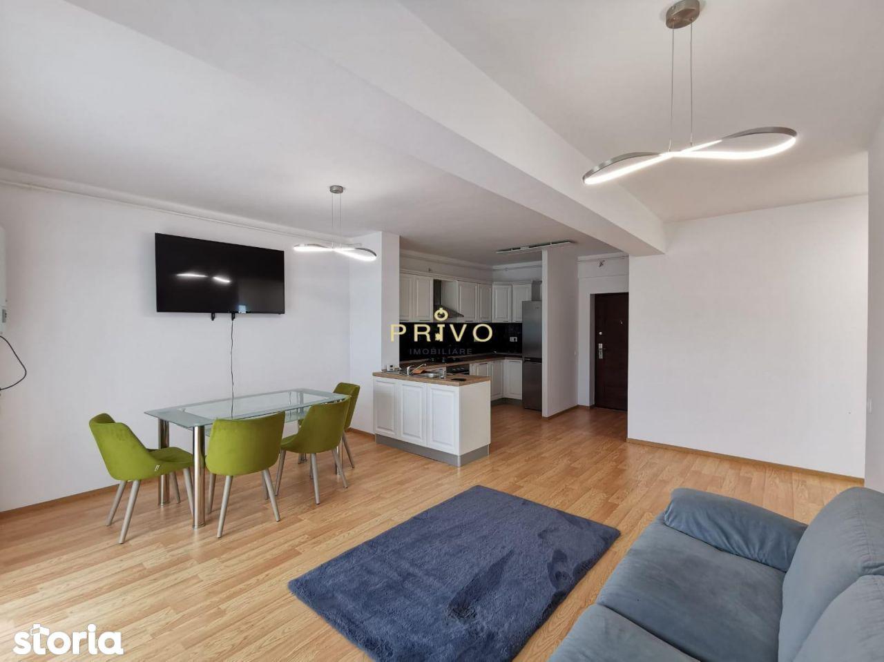 Apartament 2 camere, 55 mp, modern, parcare zona Str, C. Brancusi