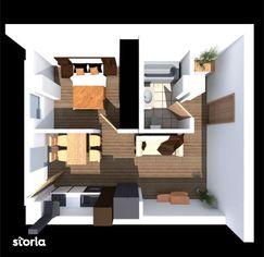 Studio - Etaj 1 - Scara 1 - 38.39 mp