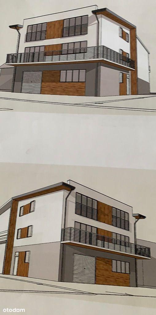 Budynek Usługowo Biurowo Mieszkalny - 3 lokale