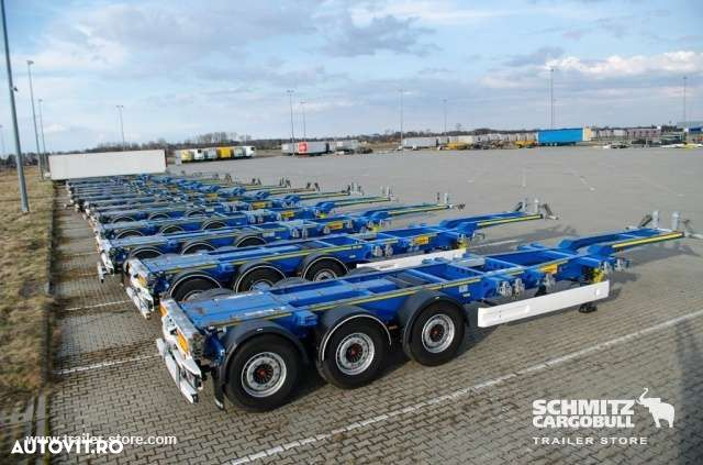 Wielton Semitrailer Container chassis - 1