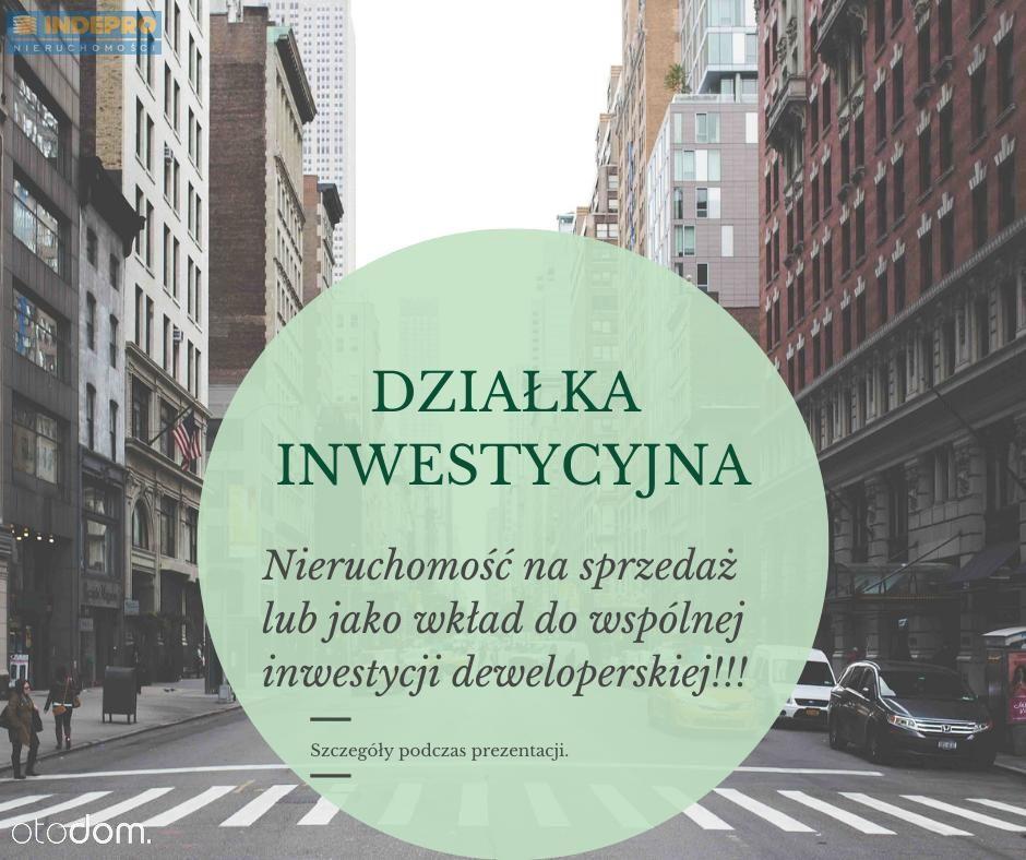 Na sprzedaż lub jako wkład do wspólnej inwestycji!