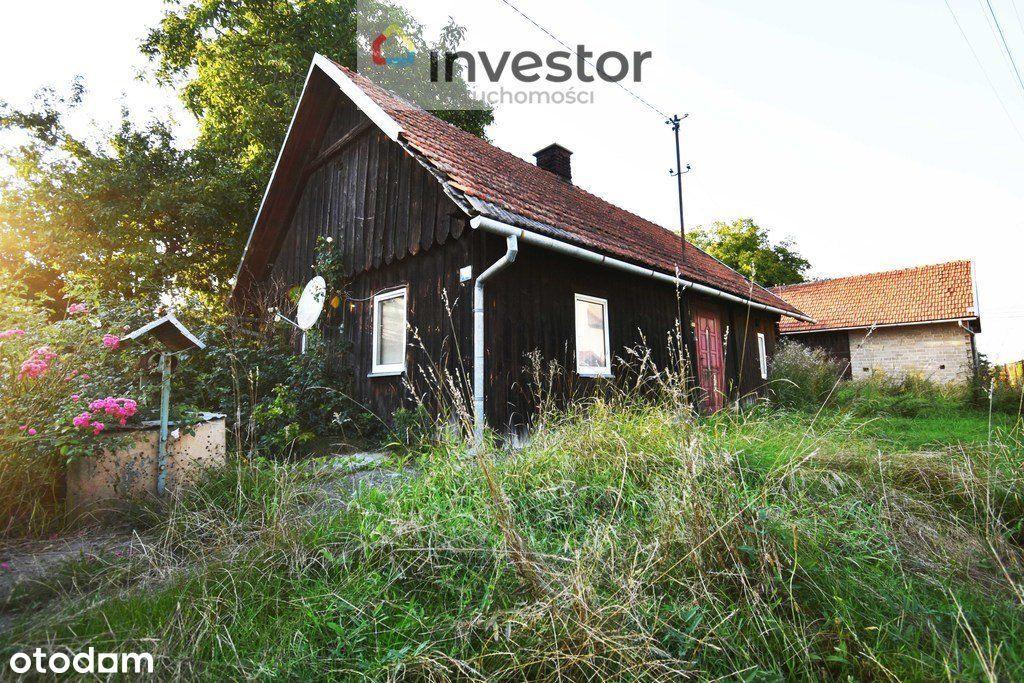 Dom ze stodołą i budynkiem gospodarczym