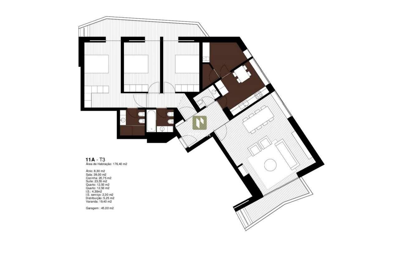 Apartamento para comprar, Aldoar, Foz do Douro e Nevogilde, Porto - Foto 34