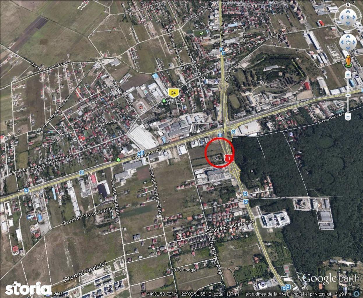 Teren de vanzare Baneasa , Bucuresti-Ploiesti