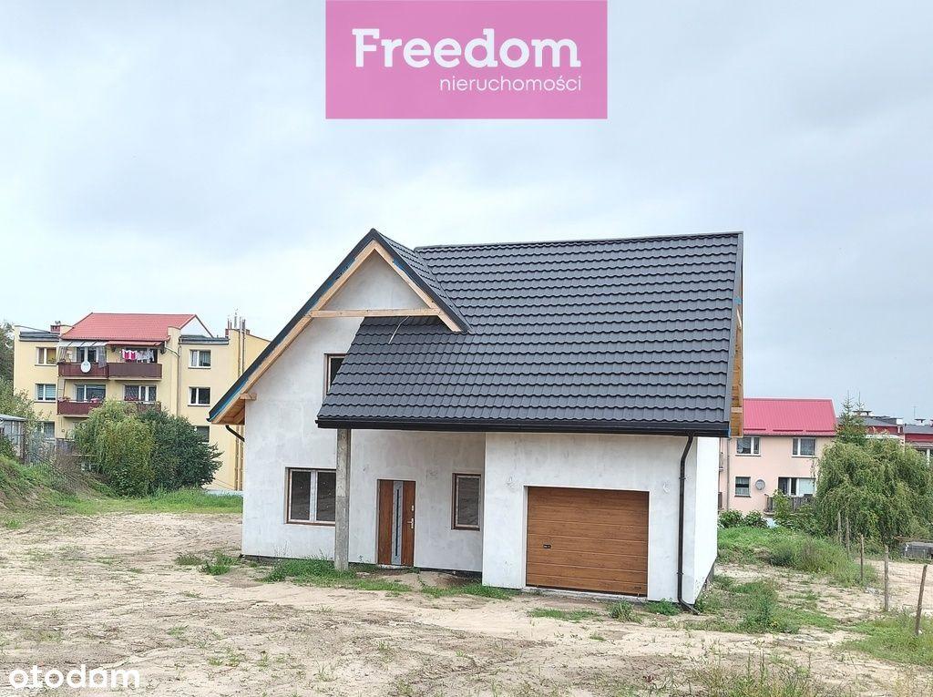Nowy dom deweloperski w Dzierzgoniu.