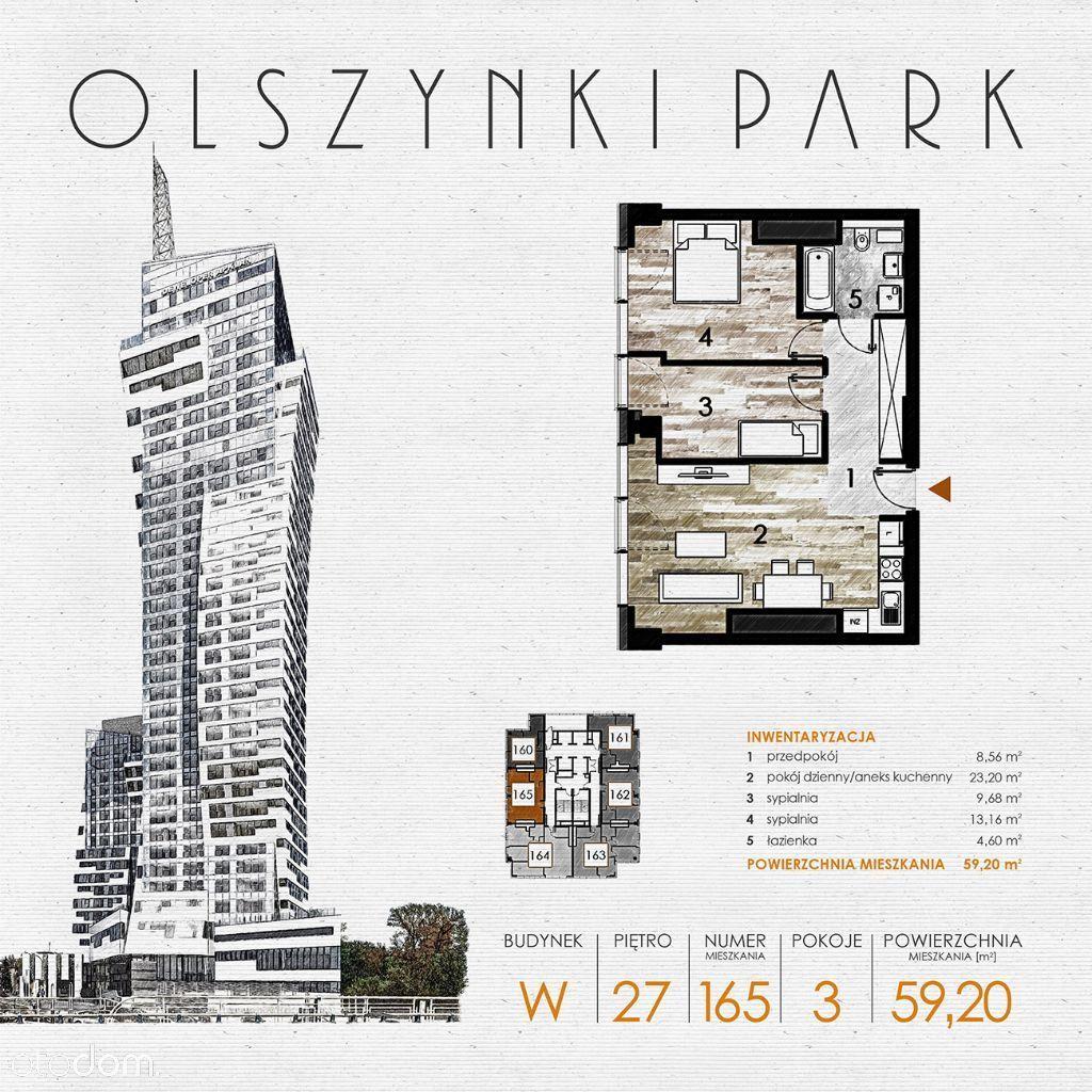 Olszynki Park - Apartament W165