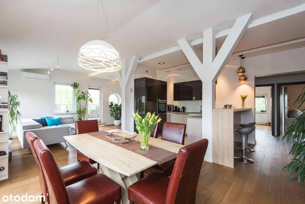 110 m2, KINO, 2 tarasy, KLIMA, b. wysoki standard